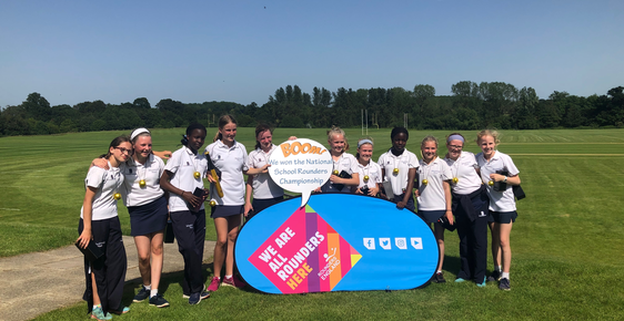Maidwell Hall are National Rounders Champions!