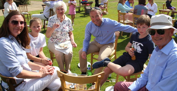 Family Day in The Sun