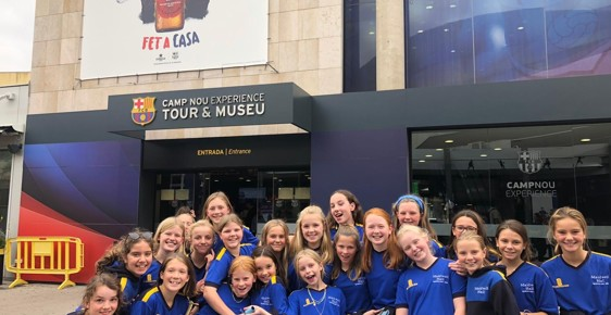 Hockey Success in Barcelona!